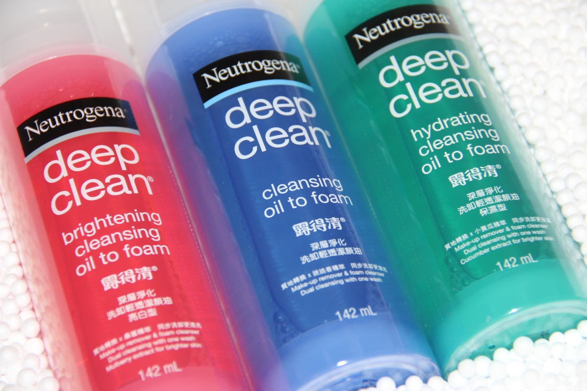 Review: Neutrogena Deep Clean Cleansing Oil-to-Foam | Skincare Routine | Makeup Cleansing Routine