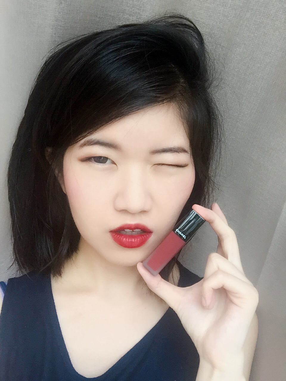 Review swatches chanel rouge allure ink in 154 experimente i have used this lipstick in my charlotte tilbury the legendary muse luxury palette makeup video so if ya interested to see how it looks like on me baditri Images