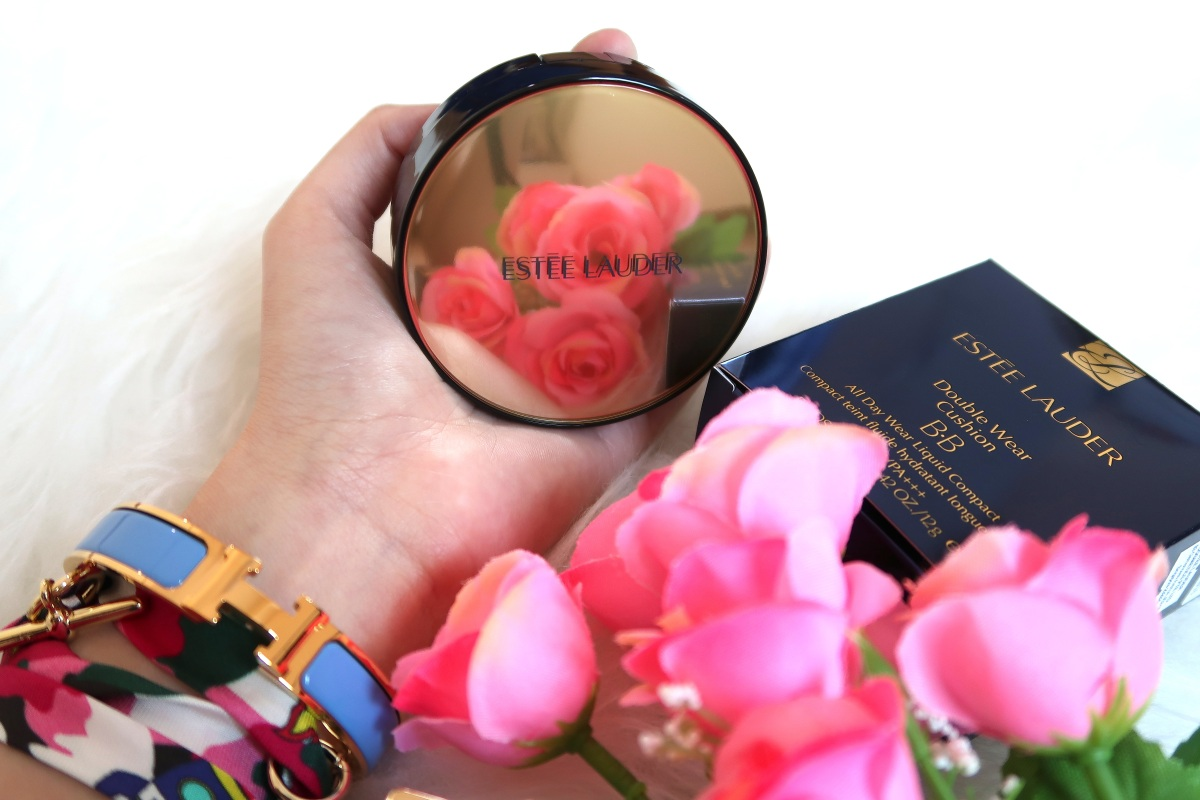 Review + Swatches: ESTEE LAUDER DOUBLE WEAR CUSHION BB All Day Wear Liquid Compact | Singapore