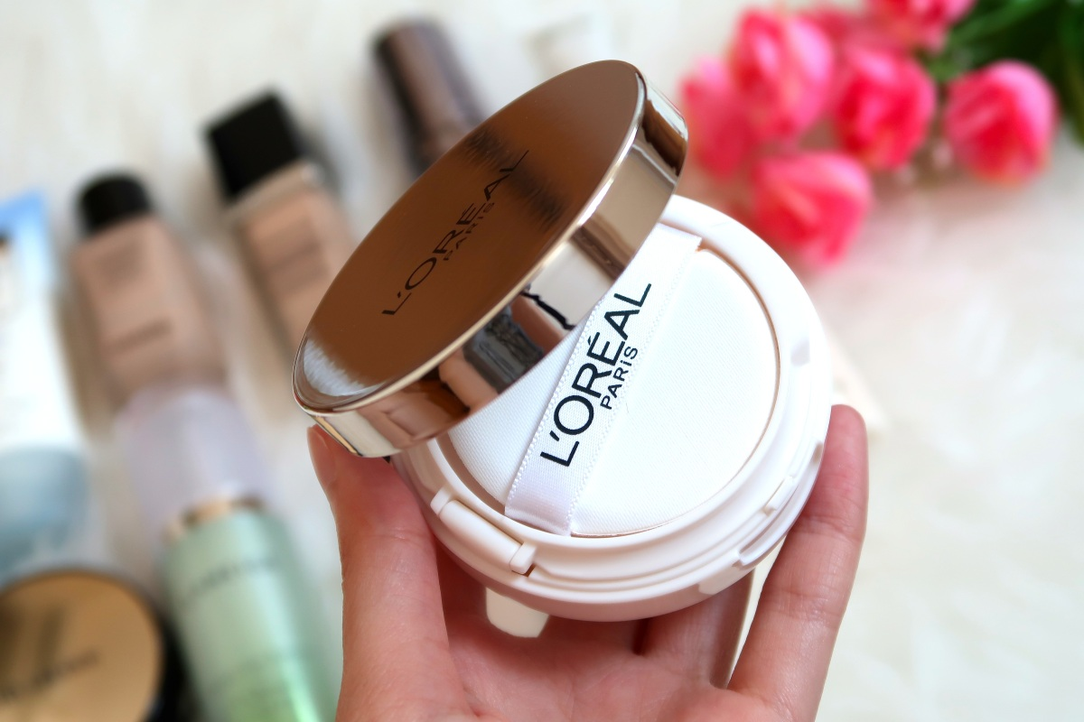Review + Swatches: NEW L'OREAL TRUE MATCH CUSHION 2017 | Singapore