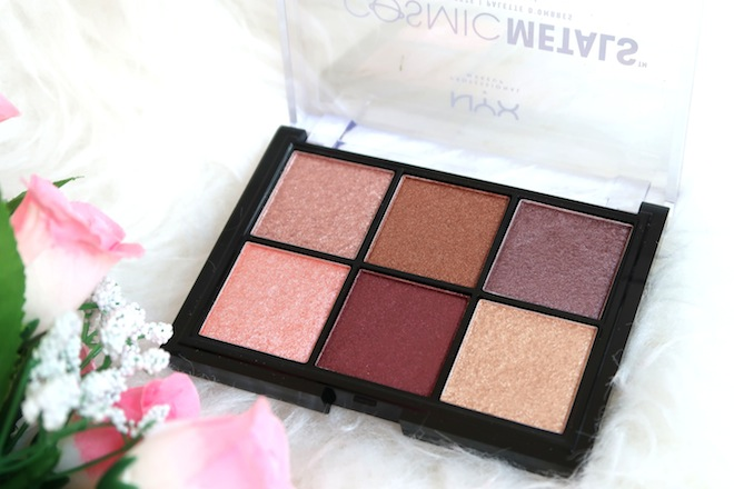 Review + Swatches: NYX COSMIC METALS Shadow Palette | Singapore