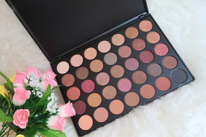 Review + Swatches: MORPHE BRUSHES 35F FALL INTO FROST Eyeshadow Palette | Singapore